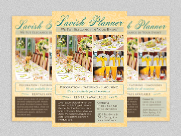 Best Event Planner Flyer Template