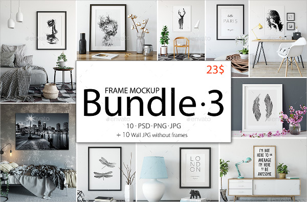 Best Frame Mockup Bundle