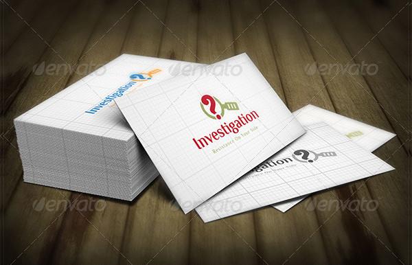 Best Investigation Logo Template