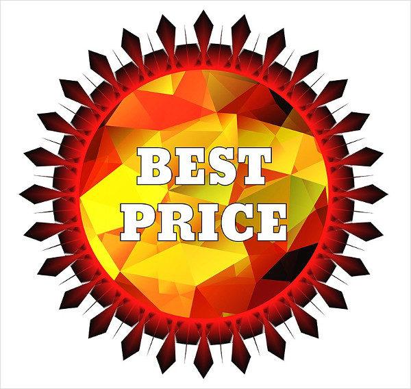 Editable Price Label Template