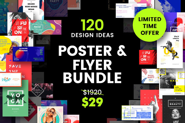 Big Poster Templates Bundle