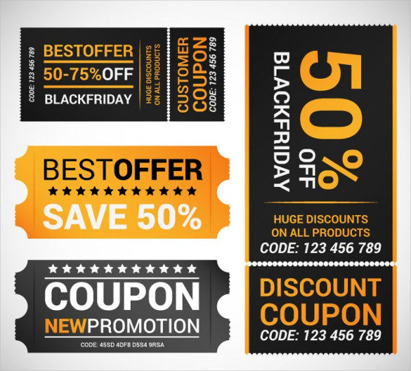 Free Black Friday Offer Coupons