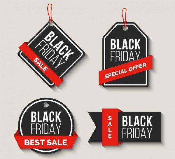 Black Friday Sale Labels Free Download