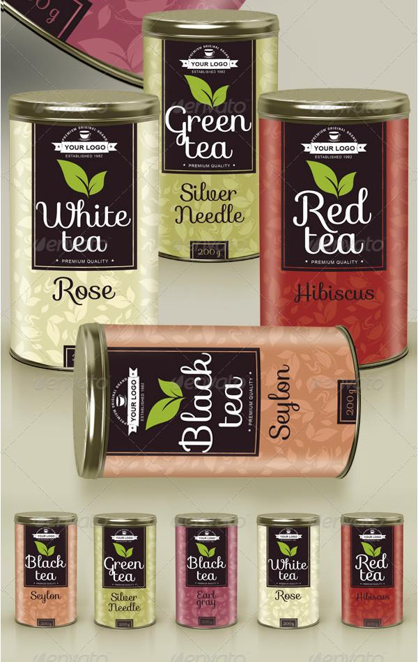 Label Templates For Tea
