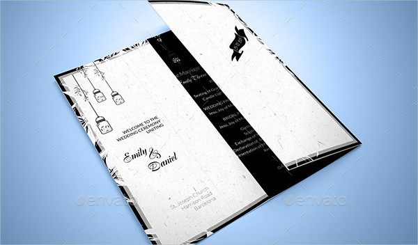Black & White Wedding Invitations Pack
