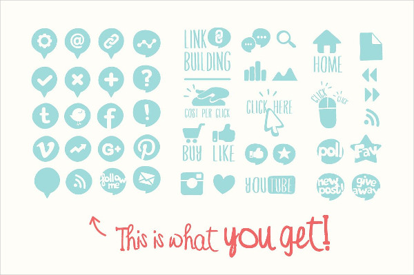 Blog Vector Icons Pack