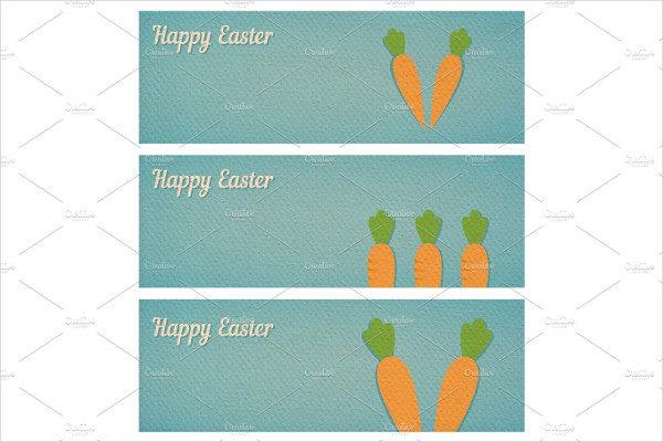 Easter Banners Printable