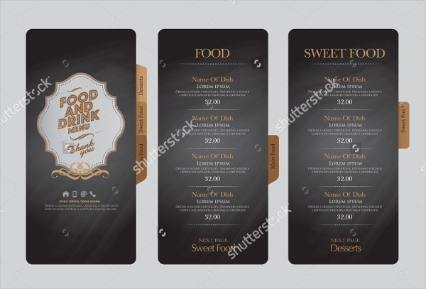 Branding Design Restaurant Menu Templates