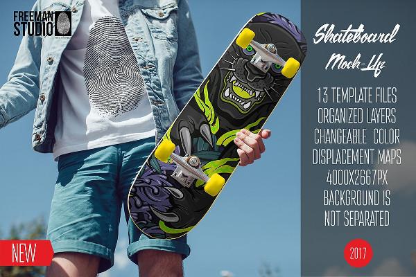 Branding Skateboard Design
