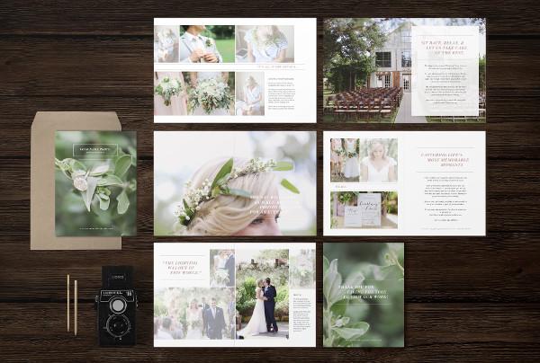 Branding Wedding Magazine Template