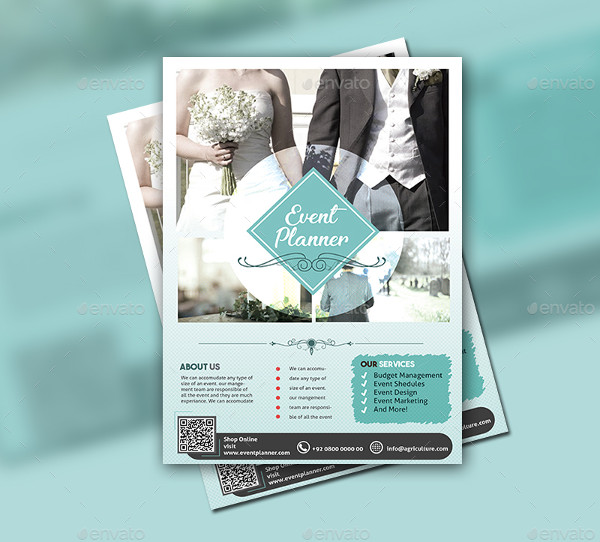 23  wedding planner flyer templates