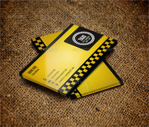 Taxi Rental Business Card Template