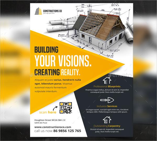 Free Construction Flyer Design Templates