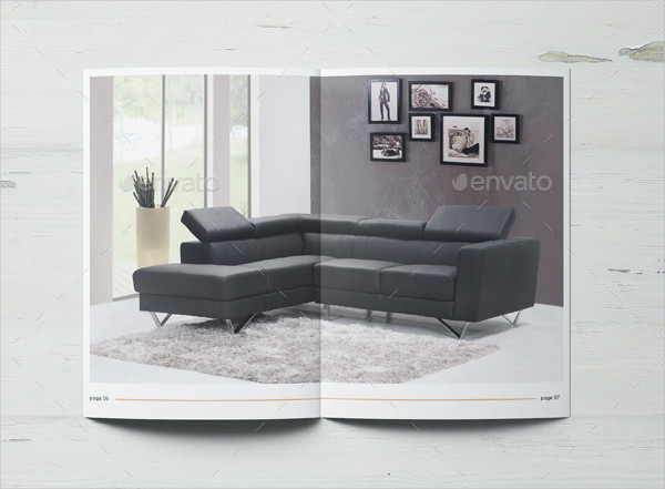 Classy Furniture Products Catalog Template