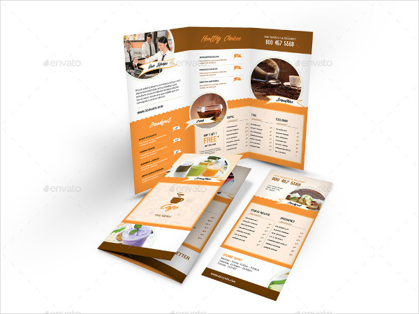 Clean & Modern Cafe Menu Print Bundle