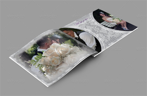 Lightroom Wedding Album Template