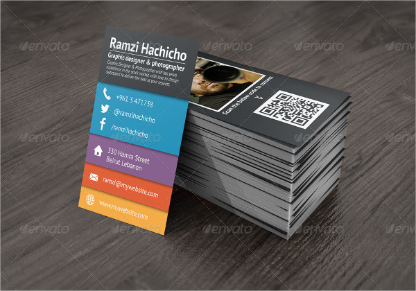 Collage Stylish Business Cards