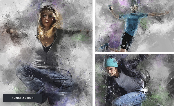 Colorful Artistic Photoshop Actions Bundle