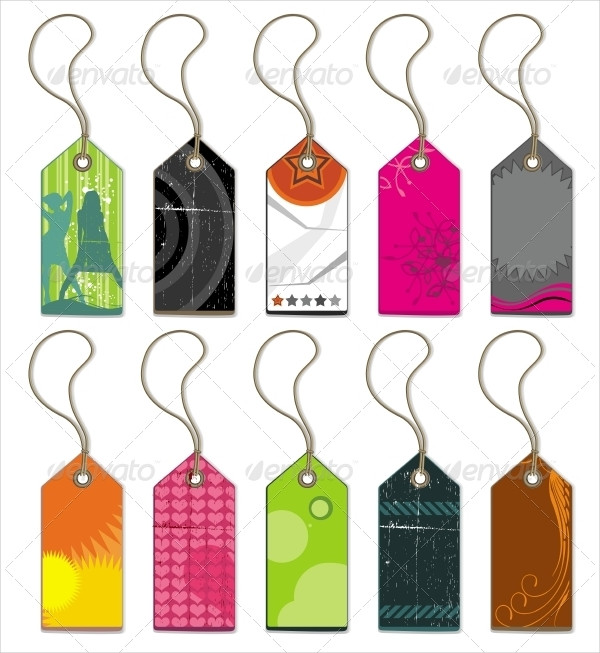 Colorful Price Labels Set