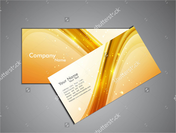 Colorful Stylish Abstract Business Card