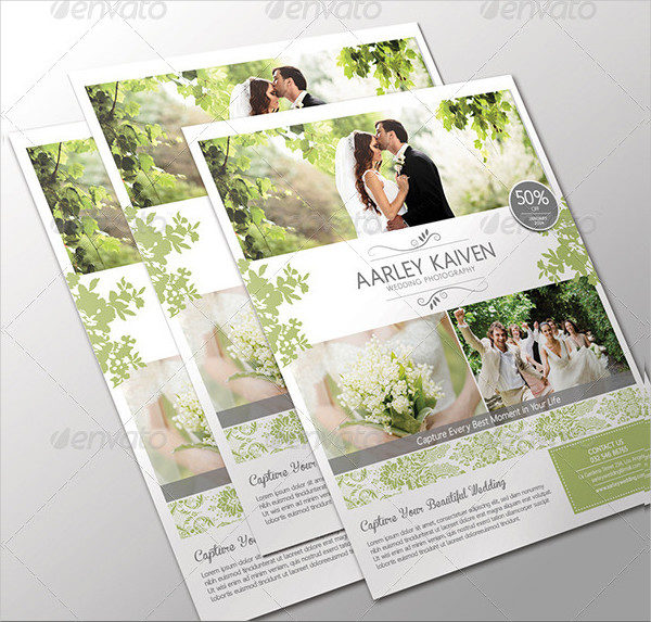 Custom Wedding Photography Flyer Design
