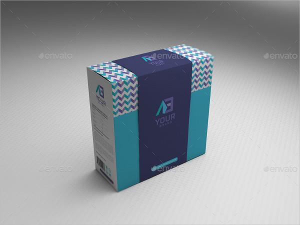 Unique Package Box Mockup