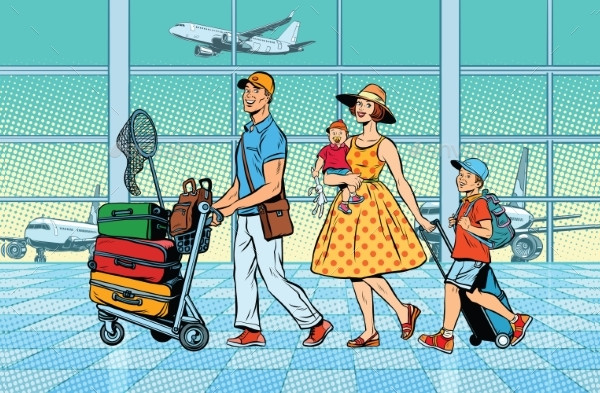 Cool Airport Art Illustrations