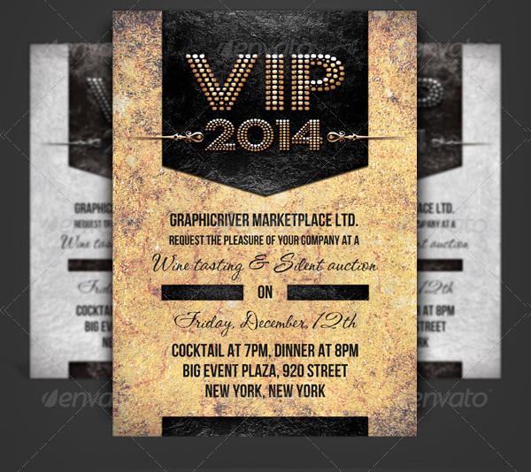 VIP Pass Corporate Invitation Design