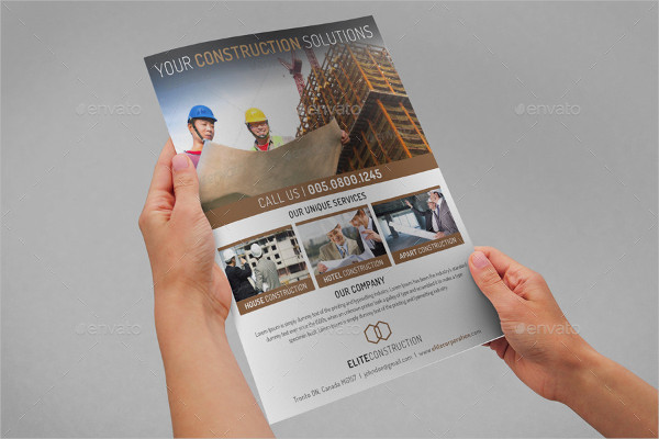 Corporate Construction Solutions Flyer