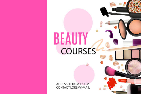 Beauty Courses Banner Template