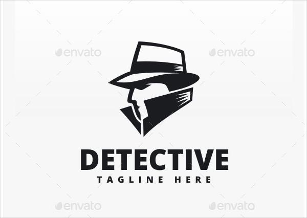 Creative Design Detective Logo Template