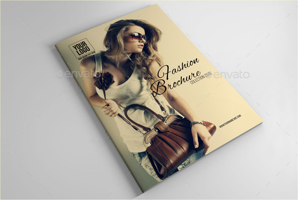 Creative Fashion Brochure Template