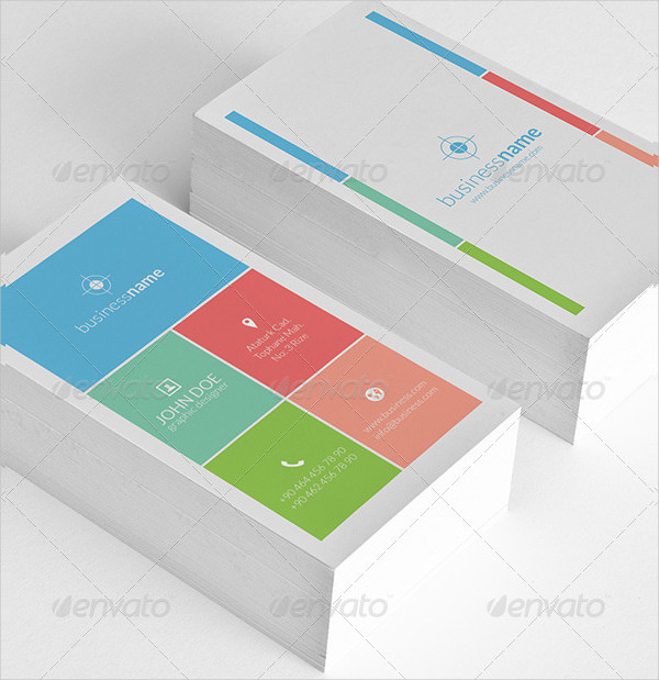 Popular Metro Business Card Template