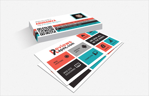 Creative & Metro Style Business Card Template Free