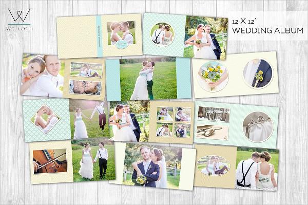 wedding album template 21 free premium download