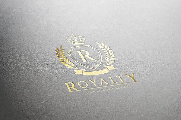 Ready To Print Royalty Logo Template