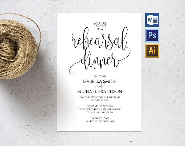21 business invitation templates free premium download custom business dinner invitation template cheaphphosting Gallery