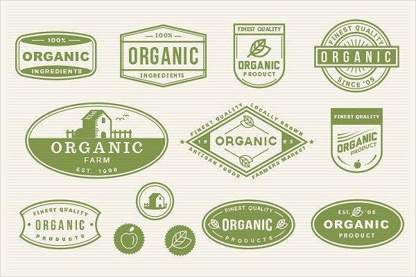 Custom Organic Labels Design