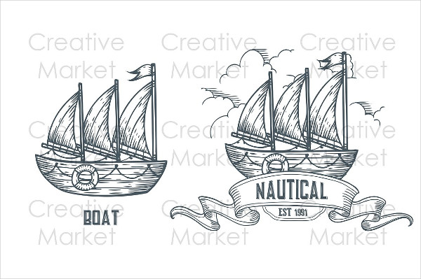 Custom Shipping Hand Drawn Label Templates