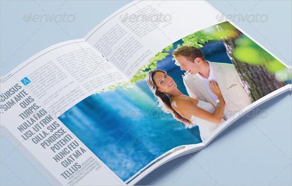 Professional & Clean Wedding Magazine Template