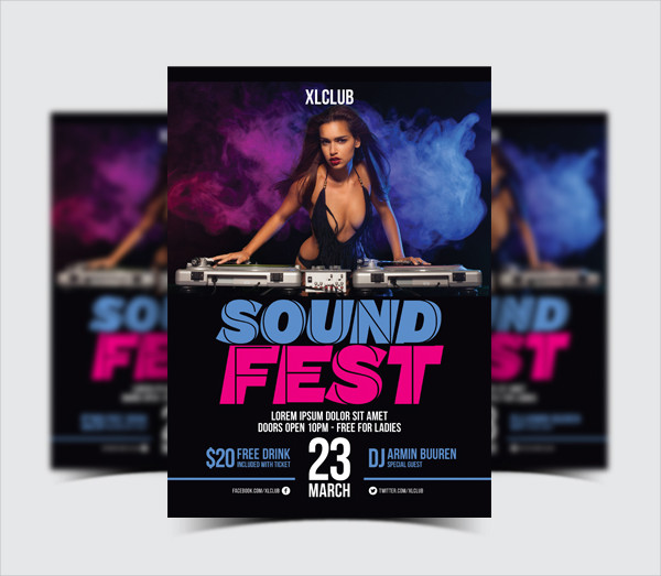 Perfect DJ Fest Flyer Template