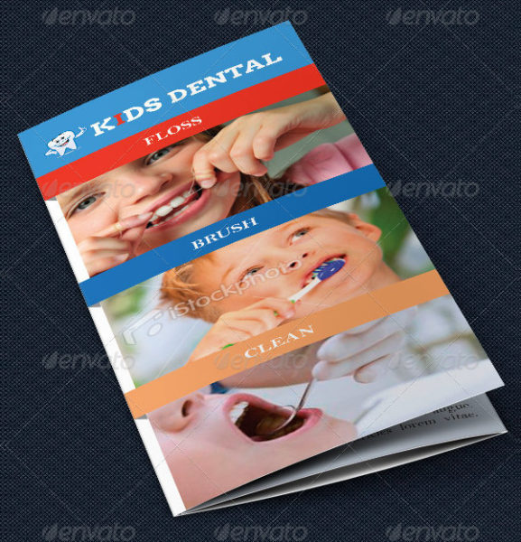 Dentist Office Tri-Fold Brochure Template
