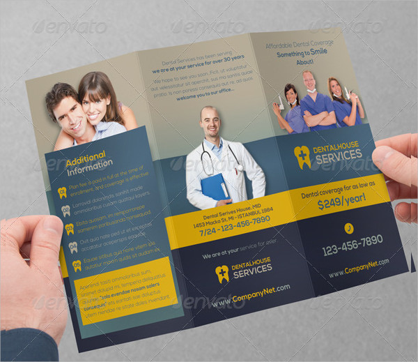 Dental Services Brochure Template