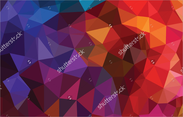 Geometric Pattern & Triangles Background