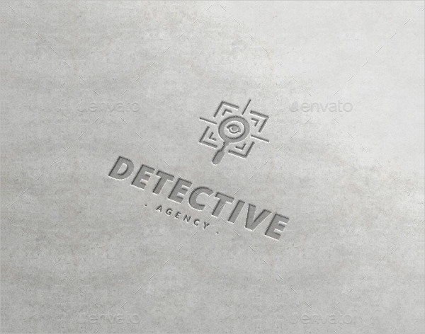 Detective Agency Logo Template