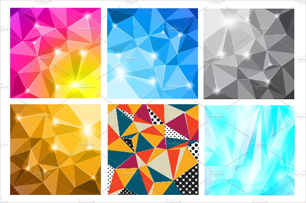 Colorful Diamond Vector Pattern