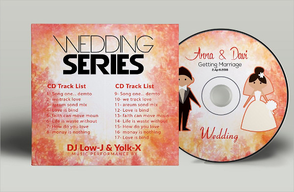 wedding cd cover psd free download bahuma sticker