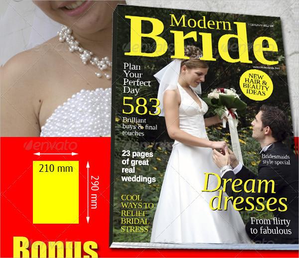 Easy to Edit Wedding Planner Magazine Template