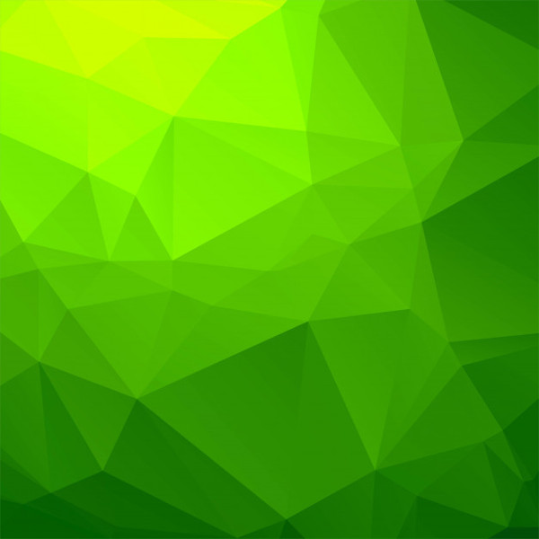 Elegant Green Geometric Background Free