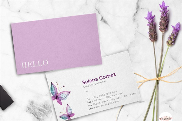 Elegant and Professional Business Card